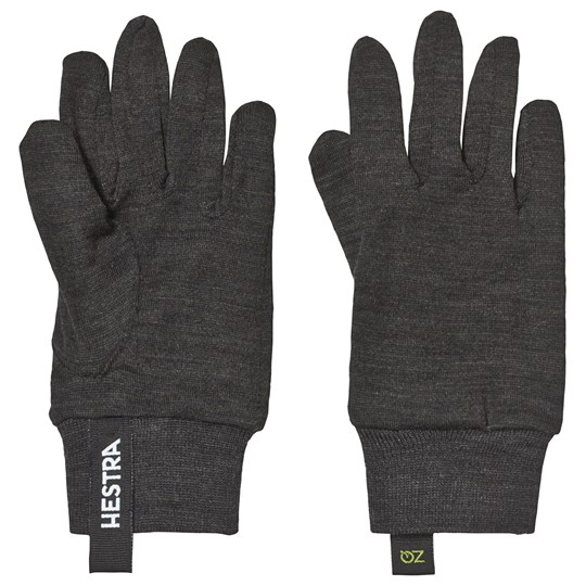 Hestra Charcoal Liner Active Gloves 390