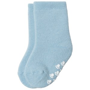 Image of Joha Wool Sock Anti Slip Lightblue 15/18 (3145066593)