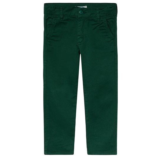 Dr Kid Bottle Green Chino Trousers 132