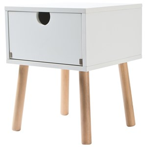 Image of JOX Bedside Table White One Size (825201)