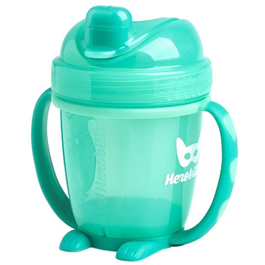 Herobility HeroSippy Training Cup 140 ml Turkos Green