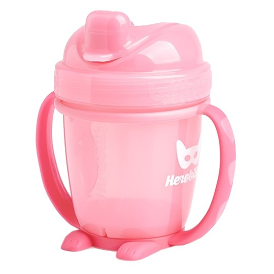 Herobility HeroSippy Training Cup 140 ml Rosa Multi