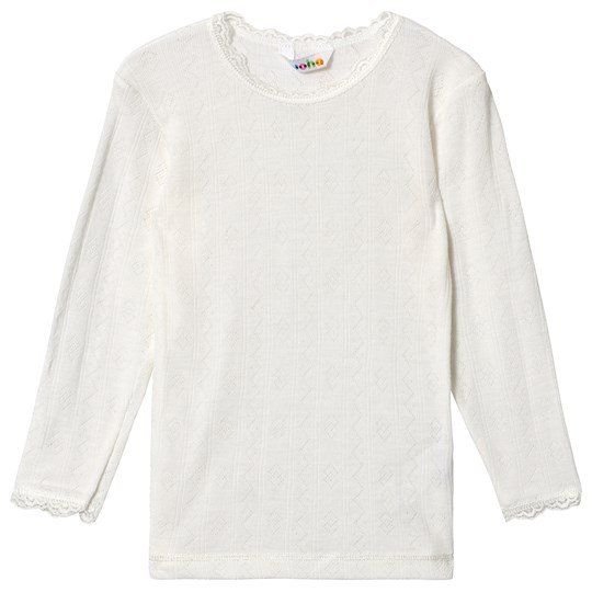 Joha Long Sleeved T-Shirt Natur White