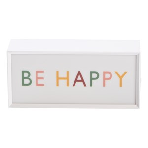 Image of JOX Lightbox Small Be Happy (3125314299)