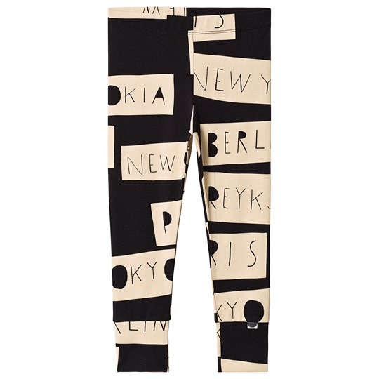 Papu No Distance Fold Leggings Black/Sand Black