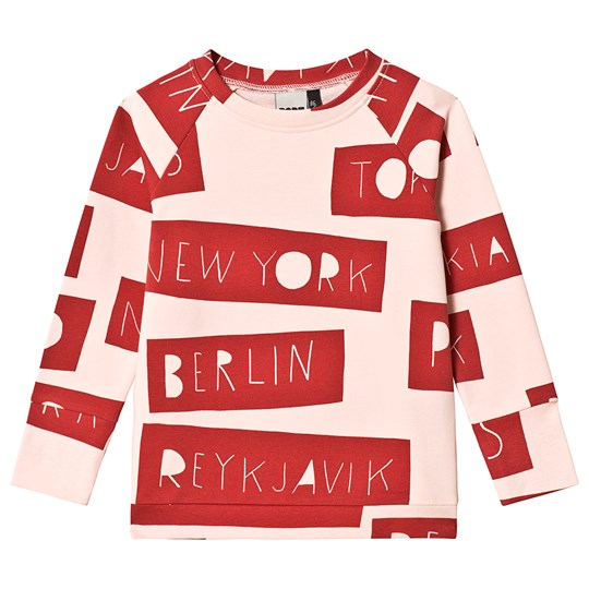 Papu No Distance Sweatshirt Pink/Red Pink
