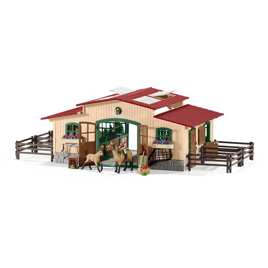 Schleich Horse Stable with Accessories Unisex