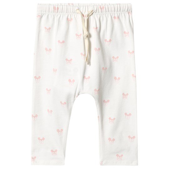 Soft Gallery Hailey Pants Pink Miki Bright White, AOP Pink Miki
