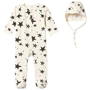 Image of Noe & Zoe Berlin Baby Gift Box Black Stars 3-6 mdr (2743689149)