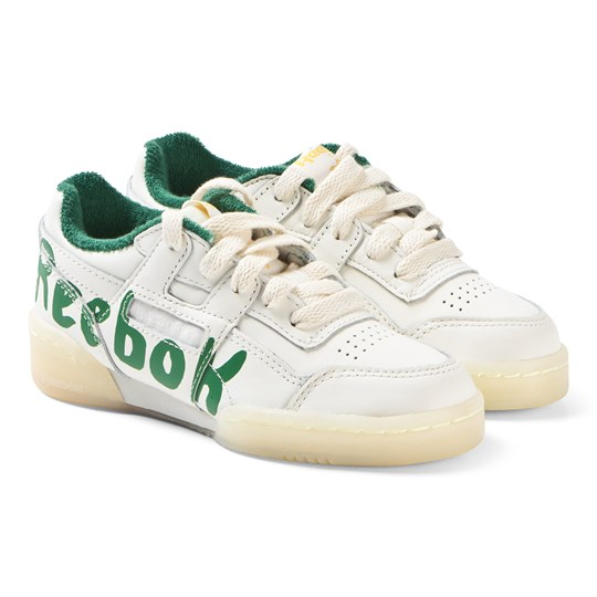 8e0fb7d1d92 The Animals Observatory - White and Green TAO Workout Plus Sneakers ...