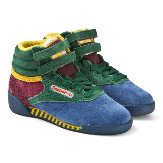 2b5cb59fd3 The Animals Observatory - Multicolor TAO Freestyle Hi-Tops ...