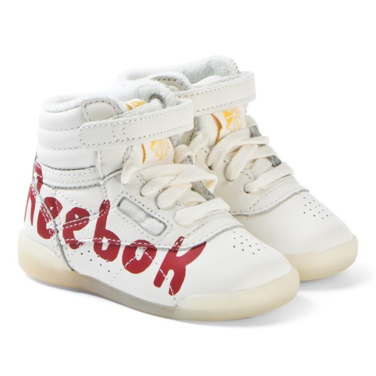81d523d1e4f The Animals Observatory White and Red Logo TAO Freestyle Infant Hi-Tops 038