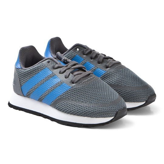 adidas Originals Grey and Blue N-5923 Sneakers grey five/true blue/ftwr white