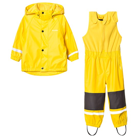 Kuling Ottawa Fleece Rain Set Sunshine Yellow