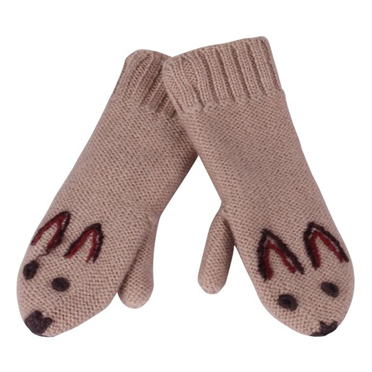 Noa Noa Miniature Gloves Mittens Powder Pink