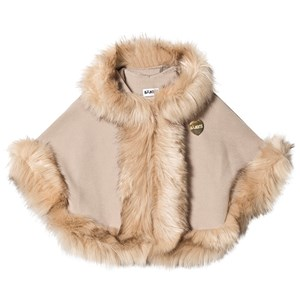 Image of Bandit`s Girl Beige Faux Fur Cape L (8-9 years) (2806806799)