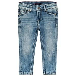 Image of Tommy Hilfiger Simon Skinny Mid Wash Jean Blå 7 years (3125303897)