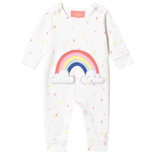 Tom Joule One-Piece Regnbue White Spot Rainbow