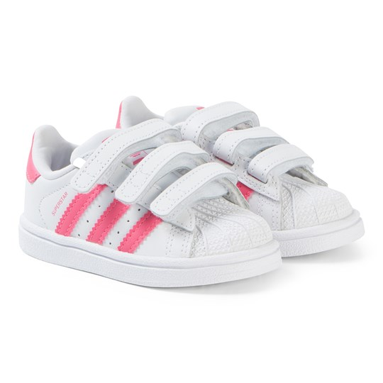 adidas Originals Superstar Velcro Sneakers Vit/Rosa ftwr white/clear pink/clear pink
