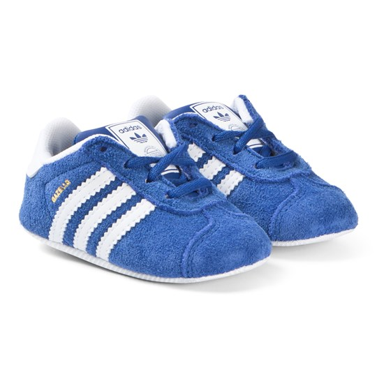 e839159add4 adidas Originals Blue Gazelle Crib Sneakers COLLEGIATE NAVY FTWR WHITE GOLD  MET.