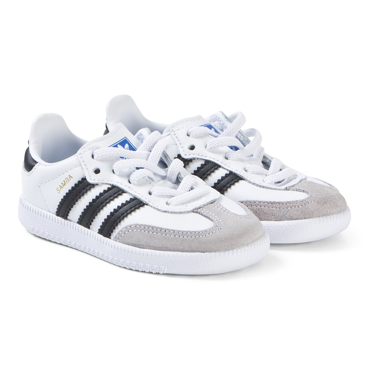sneakers for cheap 87e37 bebf8 samba og sneakers vit svart adidas originals