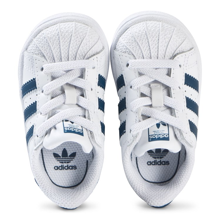 adidas Originals Superstar Joggesko HvitMarineblå