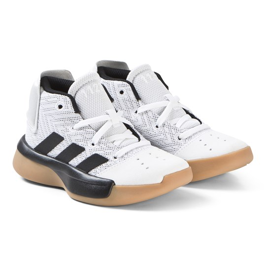 adidas Performance White Pro Adversary Sneakers ftwr white/core black/GREY FOUR F17