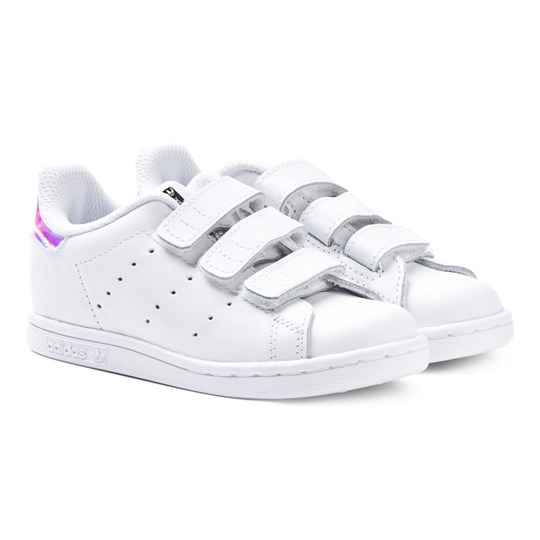 buy popular b6fa8 8406c adidas Originals - Metallic Stan Smith 2 Velcro Trainers ...