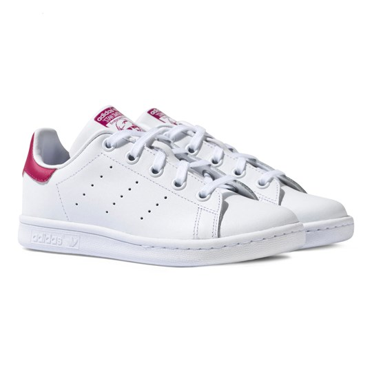 adidas Originals Stan Smith Sko Hvit og Rosa White