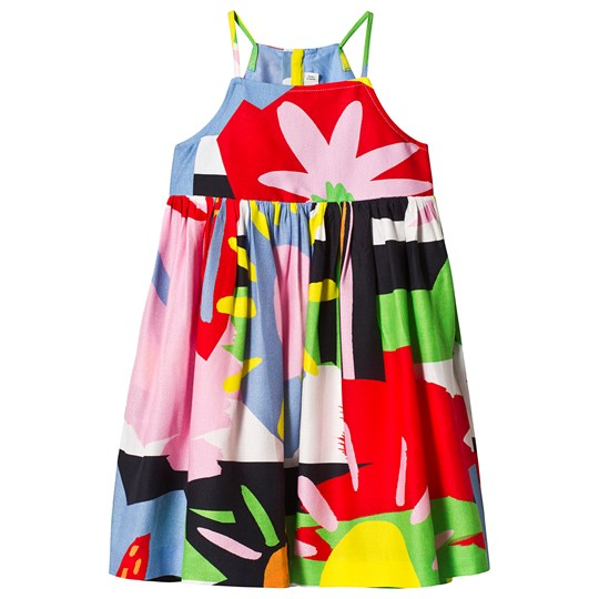 Stella McCartney Kids Multicolor Palm and Sun Dress 1093 - Colorful Palms/Sun B