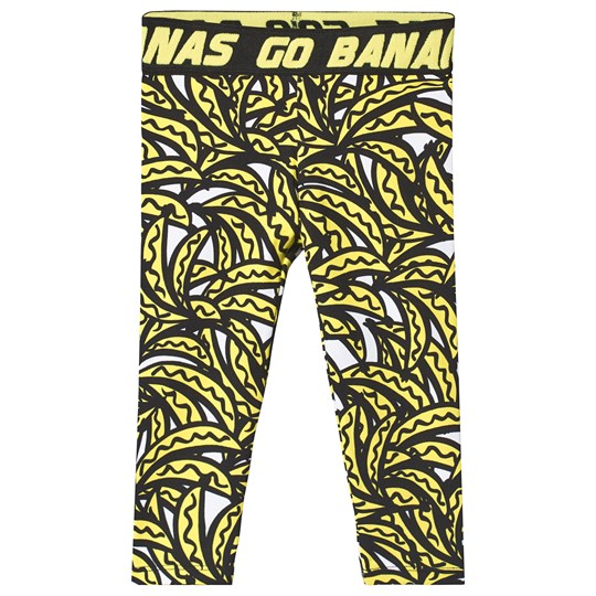 Stella McCartney Kids Leggings Bananer Svart 7340 - Bananas Aop