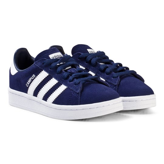 308c16934fd adidas Originals - Navy Kids Campus Trainers - Babyshop.dk