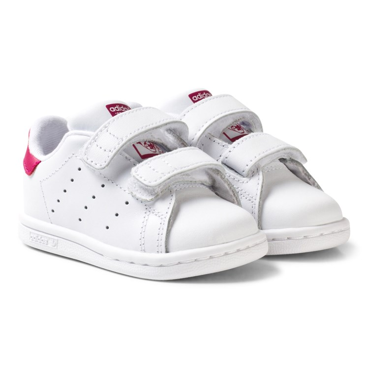 adidas Originals 70's Stan Smith Baby Sko Hvit og Rosa