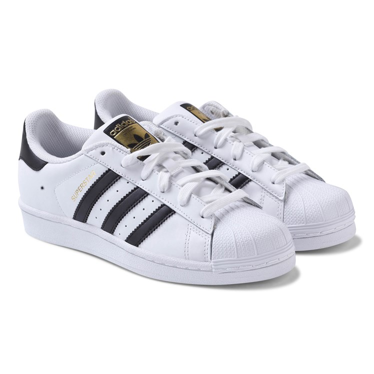 adidas Originals Superstar Laced joggesko Hvit Babyshop.no