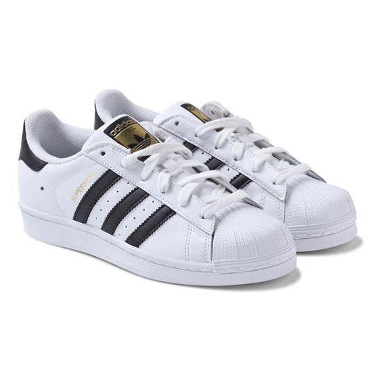 adidas Originals White Superstar Laced Trainers FTWR WHITE/CORE BLACK/FTWR WHITE