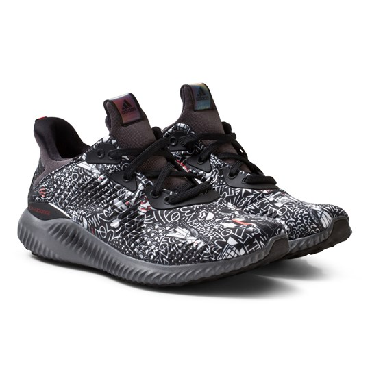 adidas Performance Star Wars Alphabounce Junior Trainers CORE BLACK/GREY FIVE F17/CORE RED S17