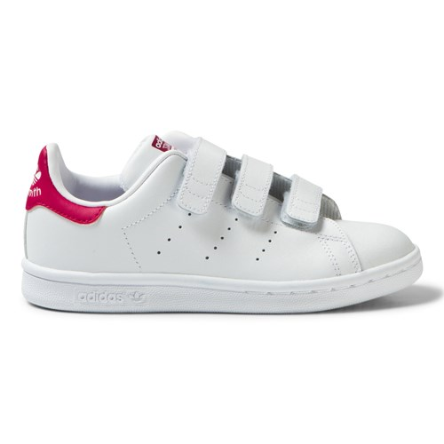 Pink Kids 3V Stan Smith Trainers