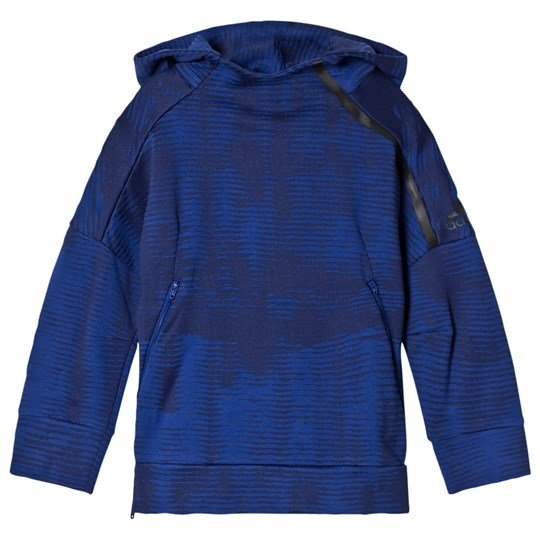 adidas Performance Navy Zone Pulse Hoodie MYSTERY INK F17