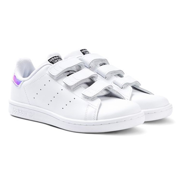 adidas Originals Metallic Stan Smith 3 Velcro Trainers
