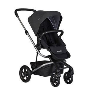 EasyWalker Harvey² Barnvagn Night Black Platinum Edition One Size