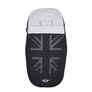 Image of EasyWalker MINI by Easywalker Footmuff Oxford Black (3148271133)