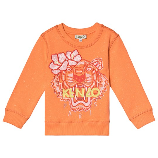 Kenzo Orange Flower Tiger Embroidered Sweatshirt 79