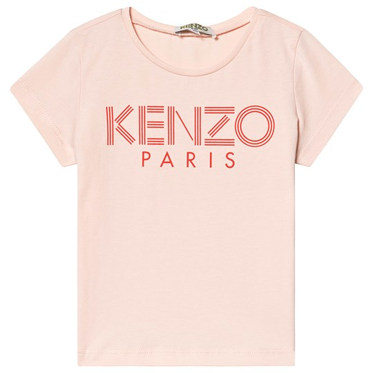 Kenzo Pink and Red Logo Tee 32
