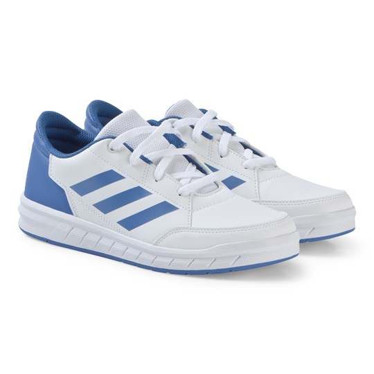 adidas Performance White and Blue AltaSport Junior Sneakers ftwr white/blue/blue