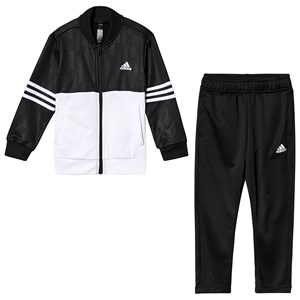 Image of adidas Performance Black and White Training Tracksuir 11-12 years (152 cm) (3125305373)