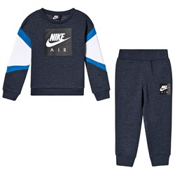 NIKE Navy Air Crew and Joggers Set