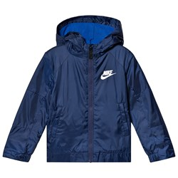 NIKE Navy Fleece Lined Jacket