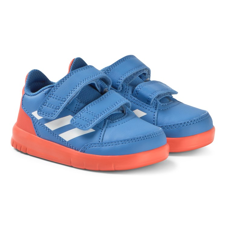 dfa41adcf1fa adidas Performance. Blue and Red AltaSport Velcro Infants Sneakers