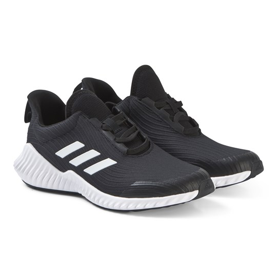 adidas Performance Black FortaRun AC Junior Sneakers CORE BLACK/FTWR WHITE/CORE BLACK