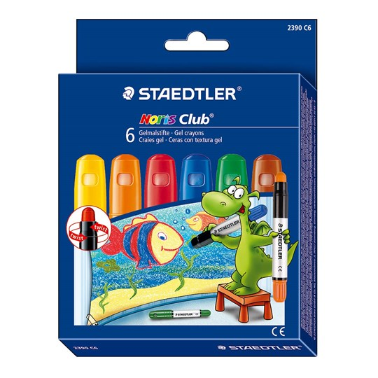 Staedtler Noris Club Gel Crayons  Multi